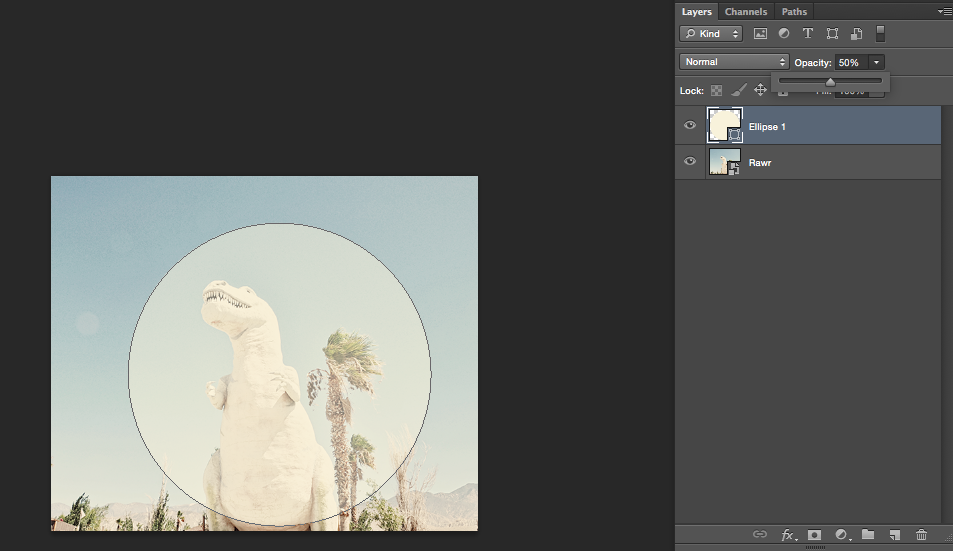 How to create a clipping mask