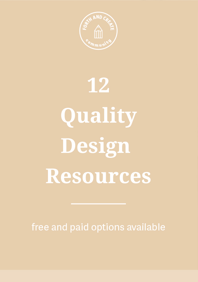 12 Quality Design Resources