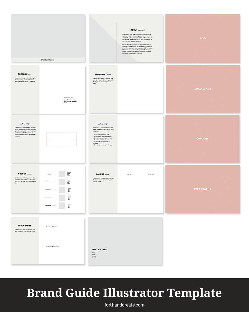 Find out why brand guides are so important and why you need one now. Free template included!