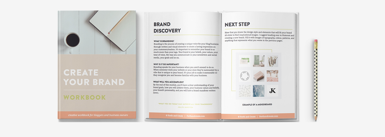Create Your Brand Ebook and Workbook
