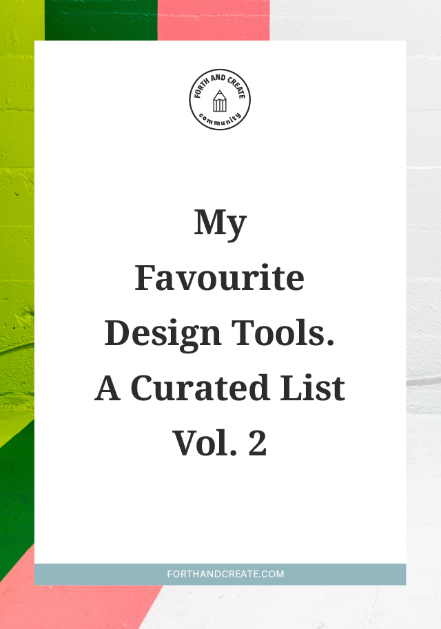 A curated list of my favourite design resources. Creative Market, Design Tools, Mockups, Fonts
