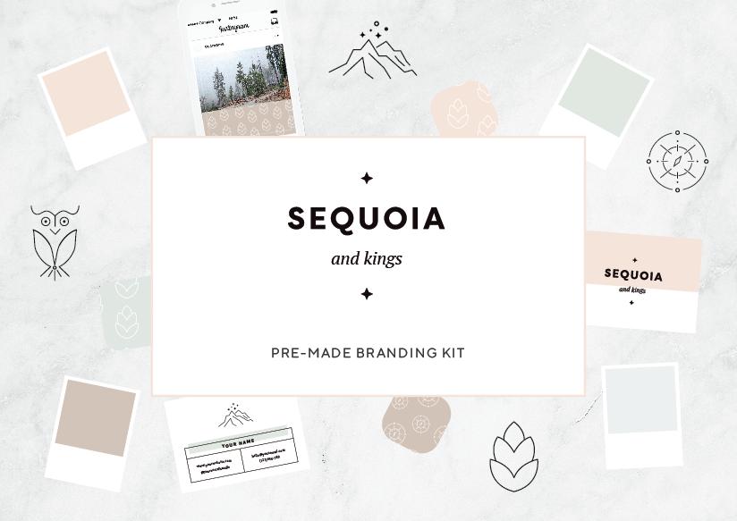Sequoia and Kings OOAK brand kit