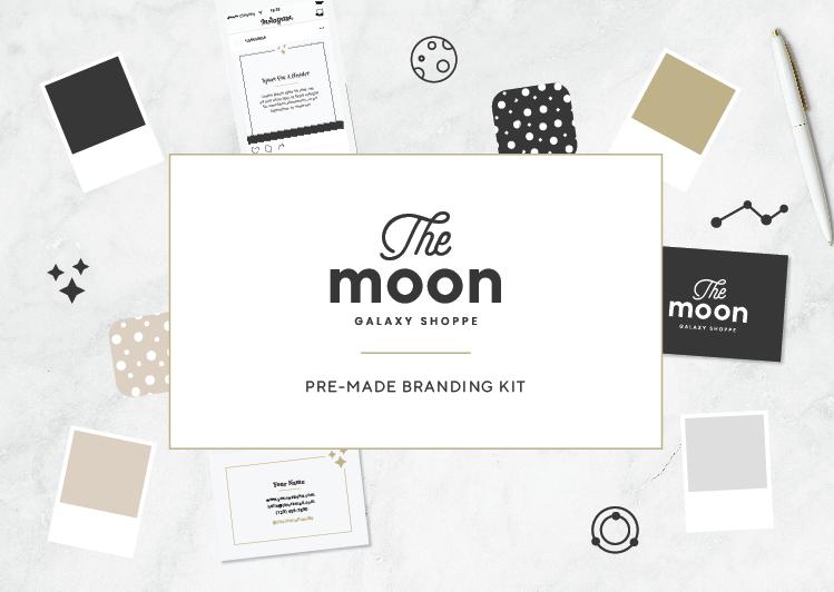 The Moon OOAK Brand Kit