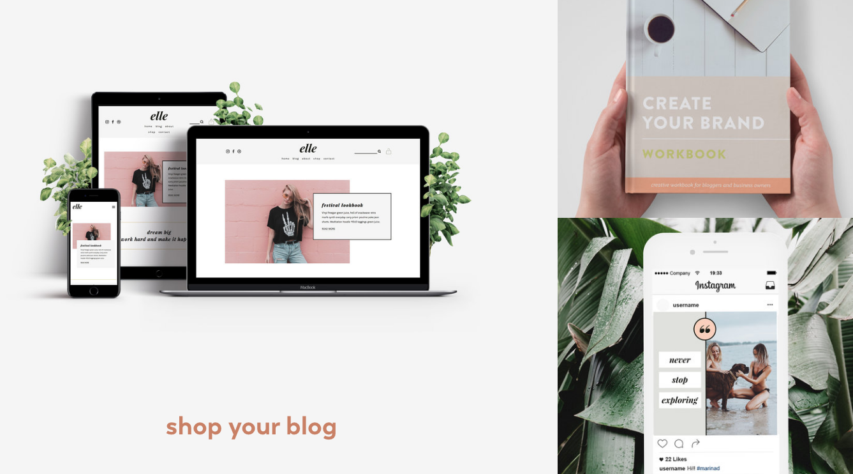 shop your blog