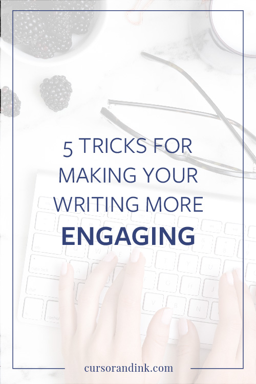 There's nothing worse than staring at a blinking cursor on a blank page with a deadline looming. Here are a few things that you can do to improve your writing immediately.Perfect for bloggers and creatives who need to create a lot of high-quality, well-written content on a consistent basis — pin now to come back to this again when you need it!