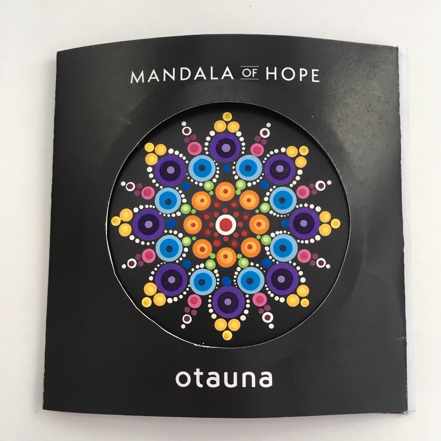 The  DIVERSITY  mandala bursts with an abundance of colours representing our human family uniting harmoniously. May the pattern parallel communities of all sizes in our world.