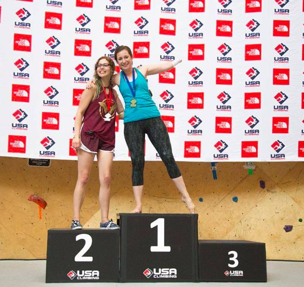 BF Athlete, Maureen Beck - 1st Place, USA Climbing Adaptive National ChampionshipsSomerville, MA Brooklyn Boulders