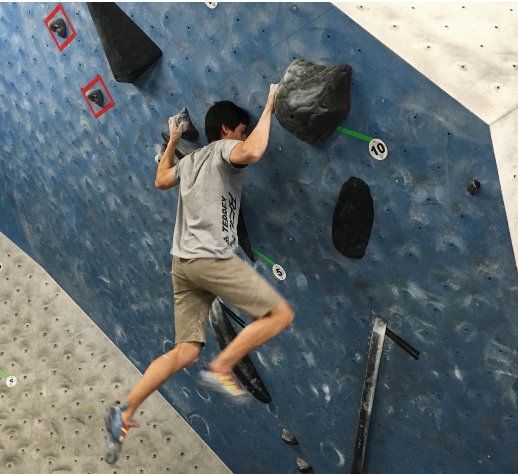 USAC Regionals - 3rd Place - Hagen Hall takes 3rd at USA Climbing Youth Regionals at Denver Bouldering Club in Denver, CO