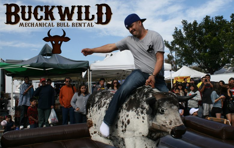 Buckwild Mechanical Bull