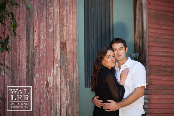 Dustin Waller Engagement Photos Wood