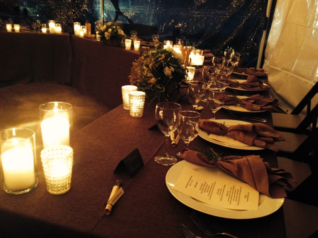 Felici Events Wedding Planner place setting
