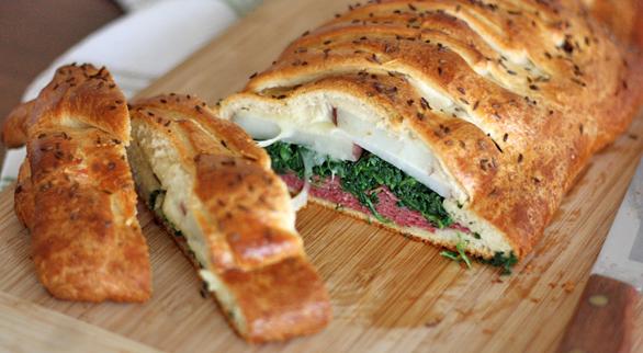 food - irish bread braid