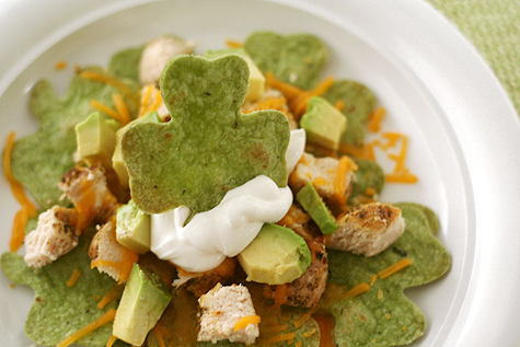 food - shamrock nachos