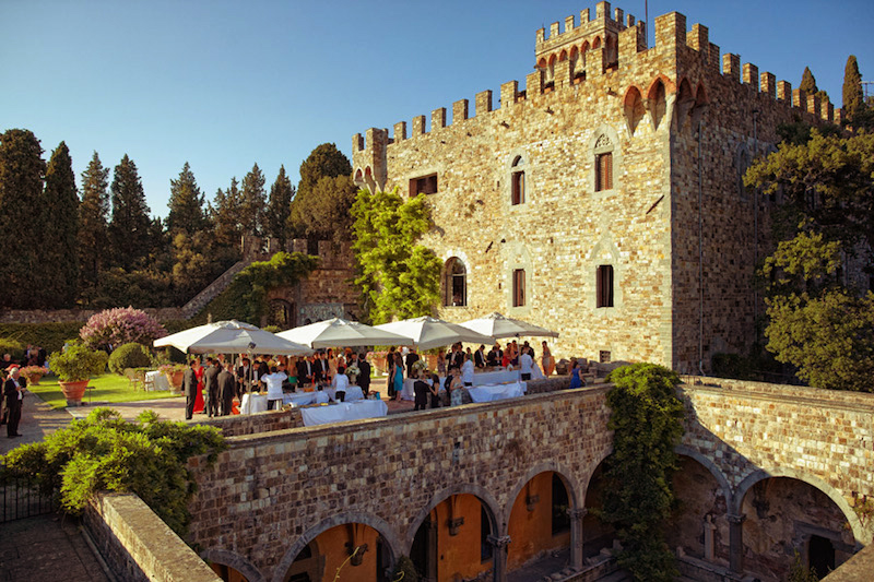 Castle Wedding Location Felici Events and Super Tuscan Wedding Planners