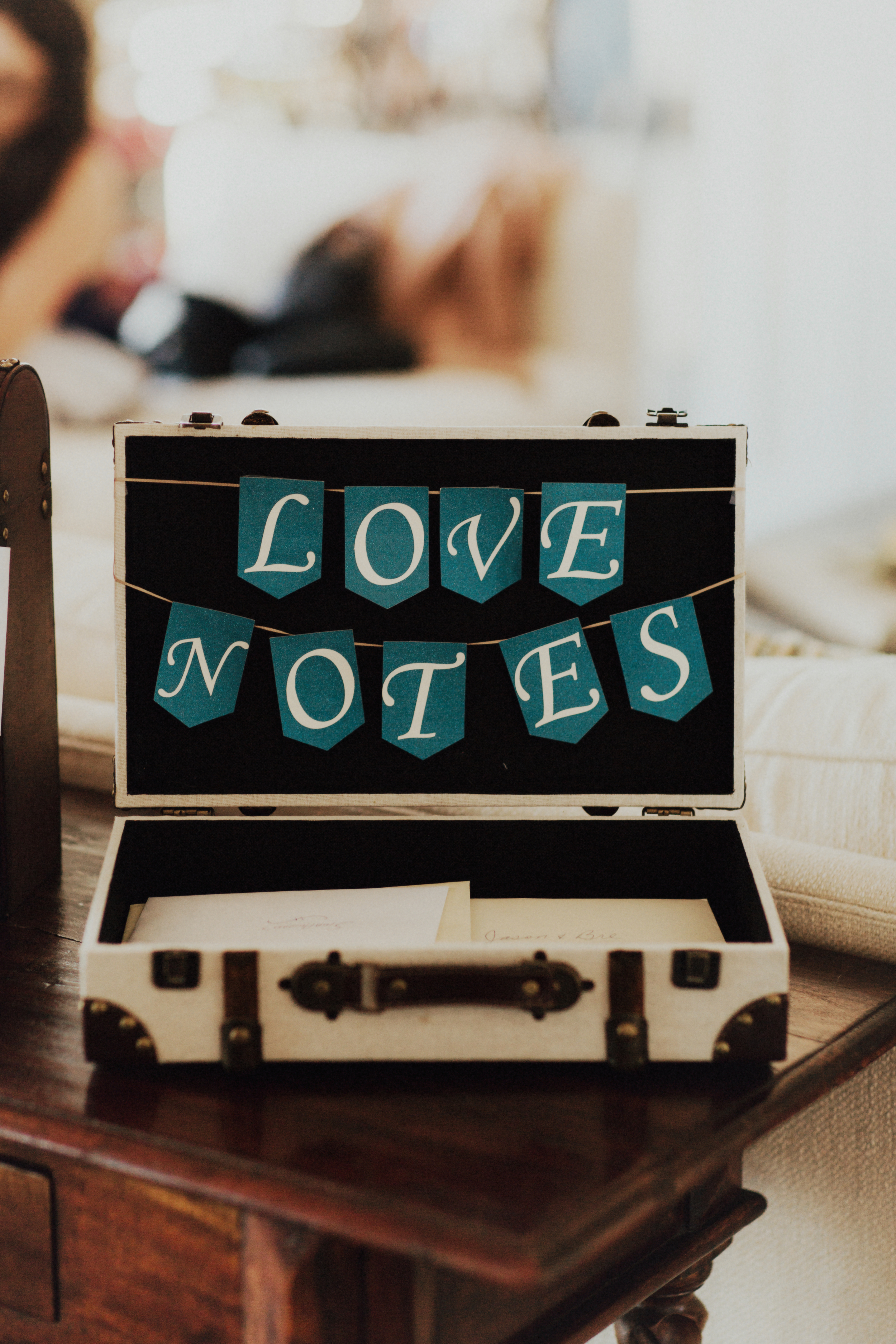 Felici Events Wedding Love Notes Box Cards Wishes