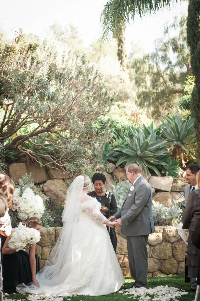 Jill and Jason Wedding Ceremony Villa Verano Felici Events