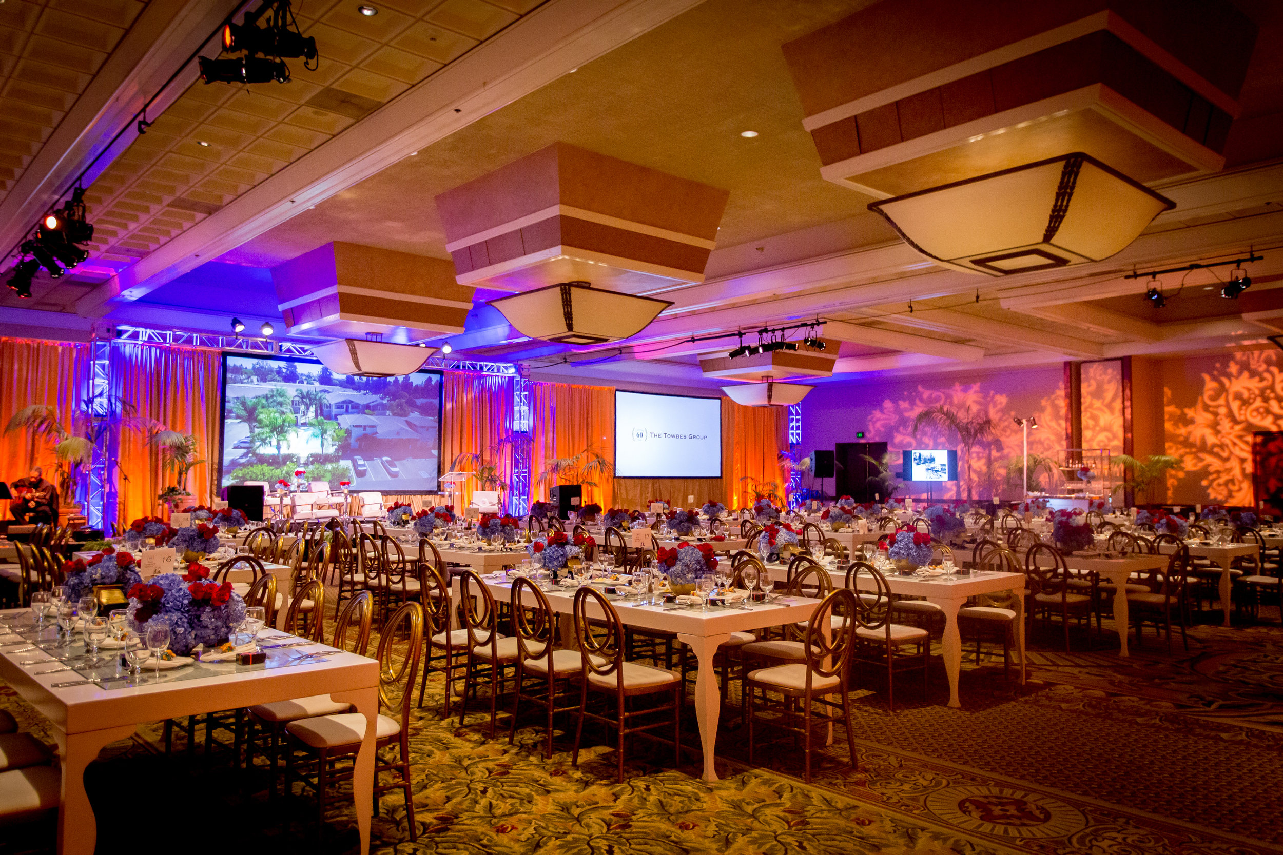 Felici Events | Planner | Fess Parker A Doubletree By Hilton Resort | 60th Anniversary Celebration | Reception