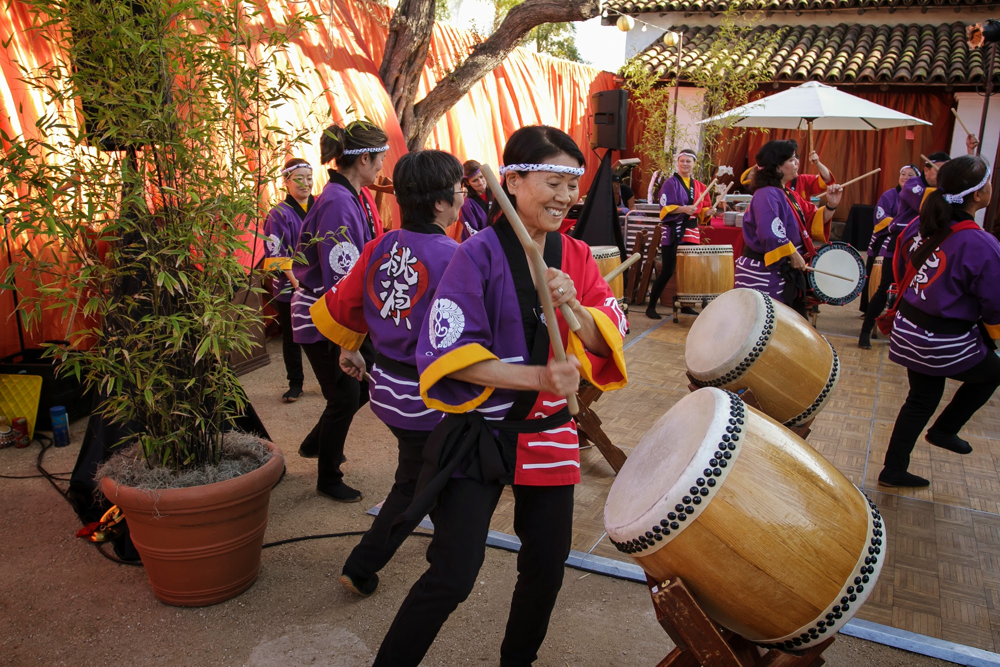 felicievents.com | Corporate Event planner | Asian Theme Dinner | Fundraiser | Non-Profit | Taiko Drum Entertainment