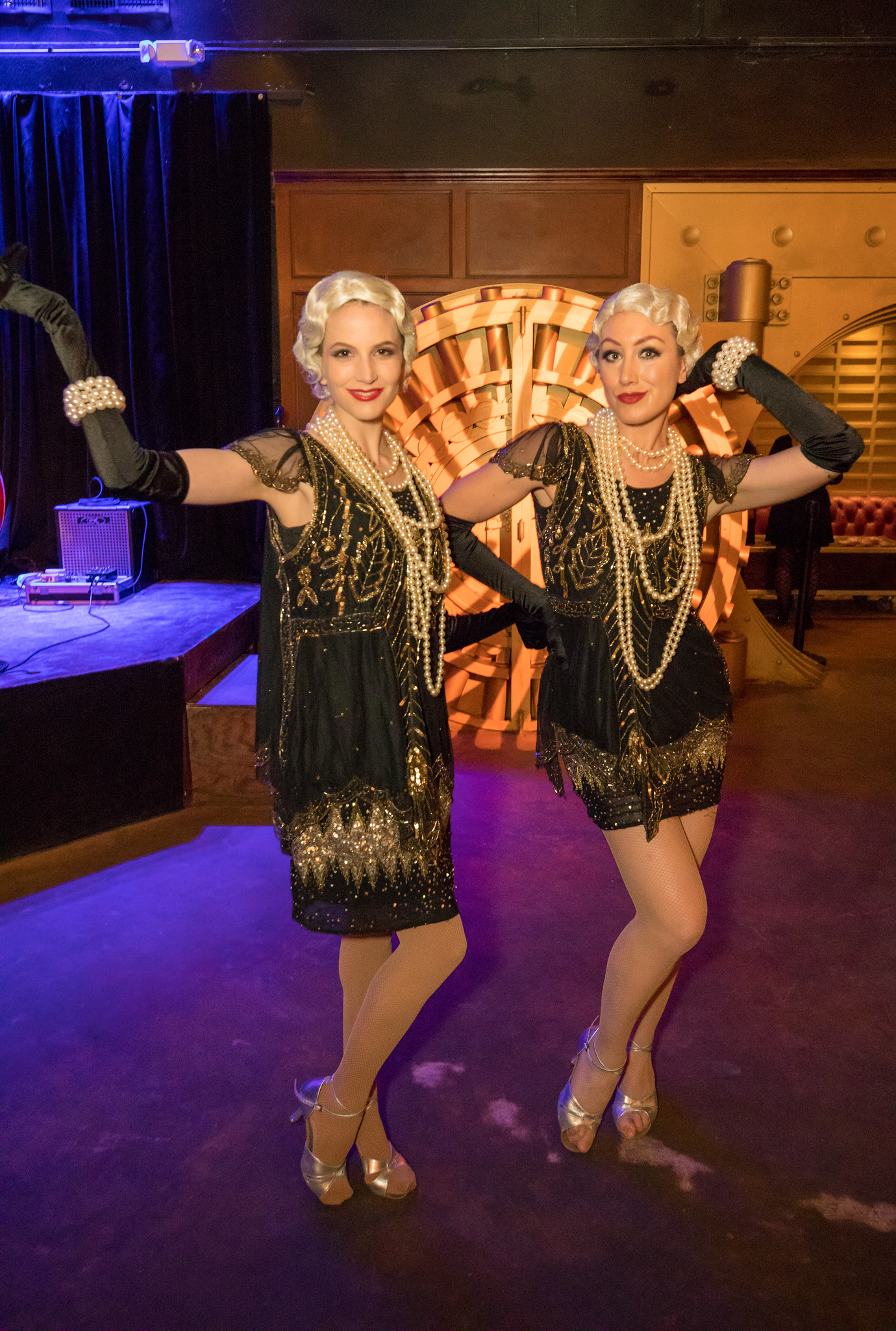 www.felicievents.com | The Federal Bar Long Beach | Roaring 20's theme party | Lucid Life Entertainment | Champagne Creative Group | TSE Connects 2017