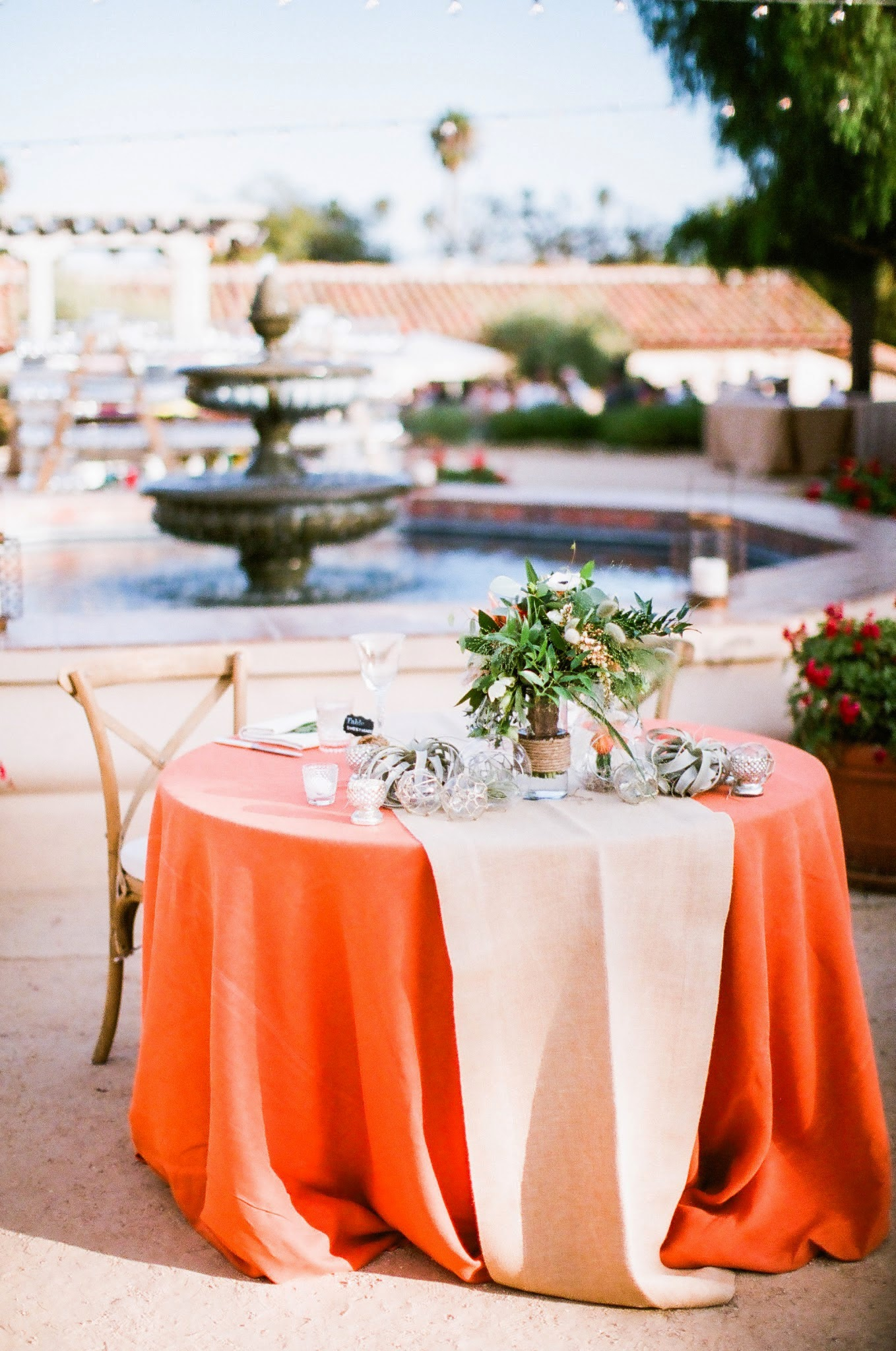 www.felicievents.com | Felici Events | Historical Museum Wedding | Eclectic Orange Wedding | Sweetheart Table