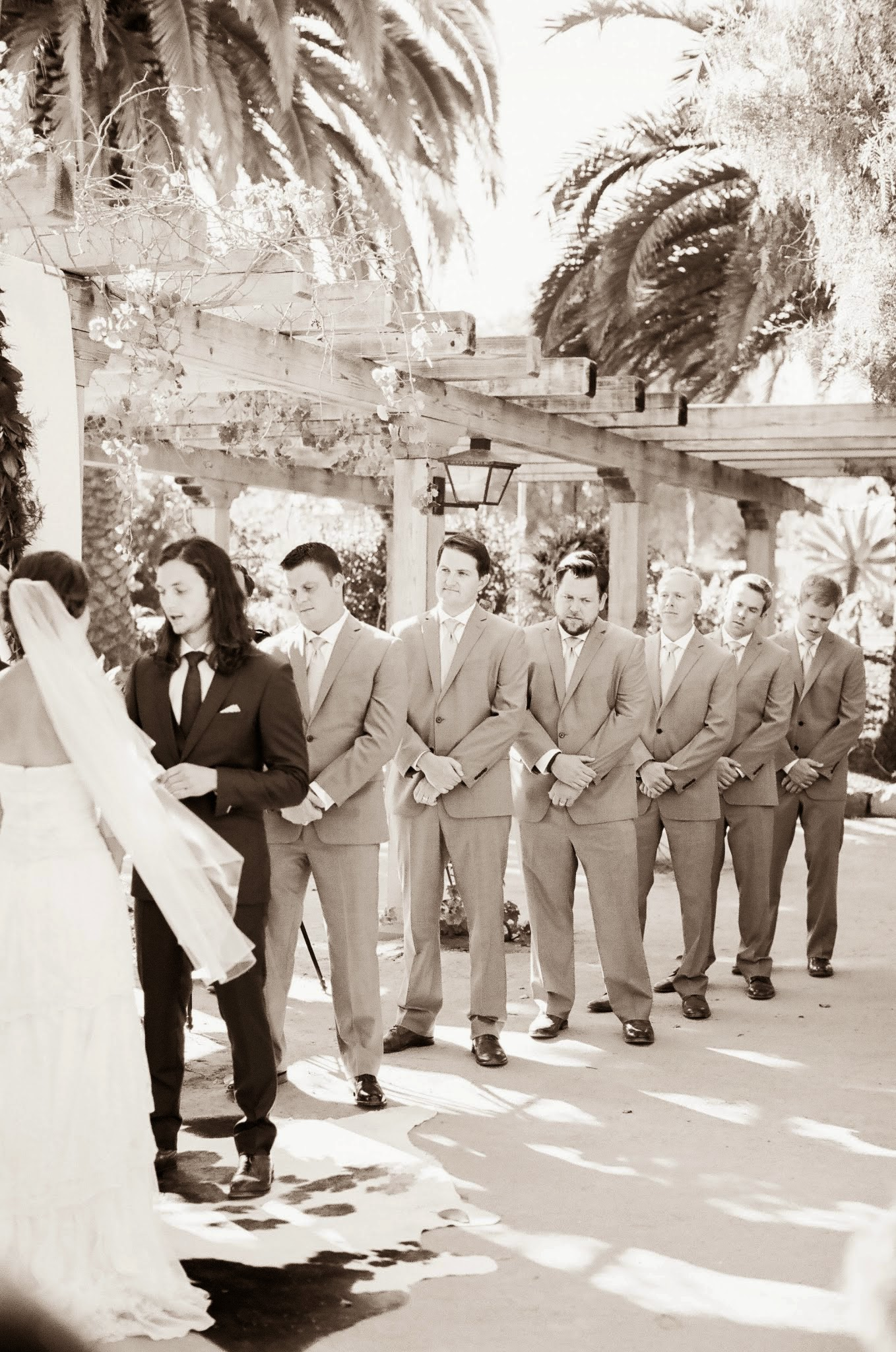 www.felicievents.com | Felici Events | Historical Museum Wedding | Eclectic Orange Wedding | Groomsmen
