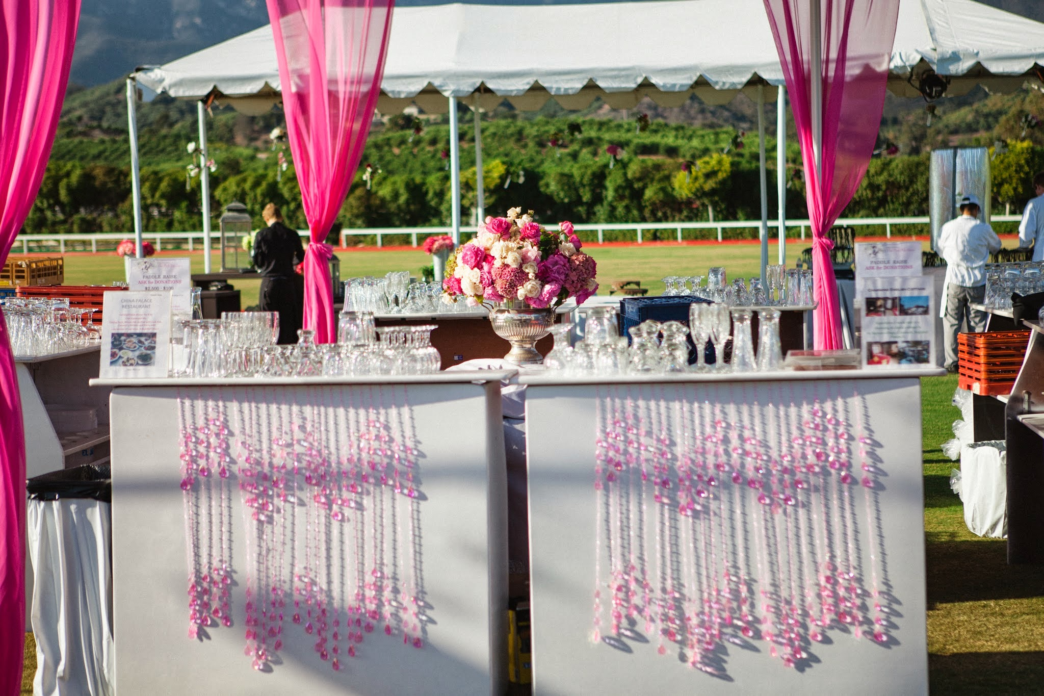www.FeliciEvents | Pink Polo Party | Funraising Event | Felici Fundraiser | Polo Theme | Clarissa Koenig Photography | Pink Bar