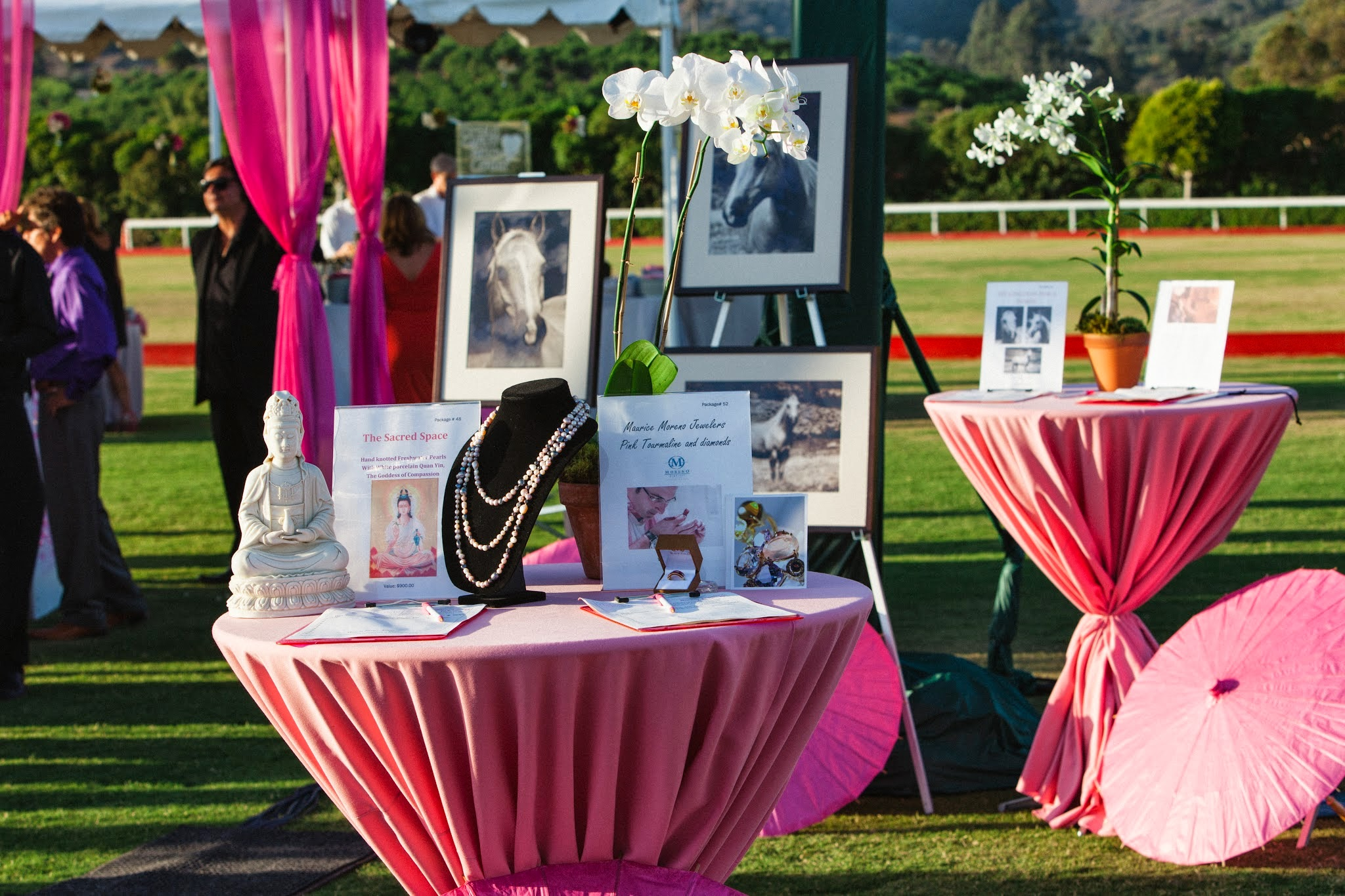 www.FeliciEvents | Pink Polo Party | Funraising Event | Felici Fundraiser | Polo Theme | Clarissa Koenig Photography | Silent Auction