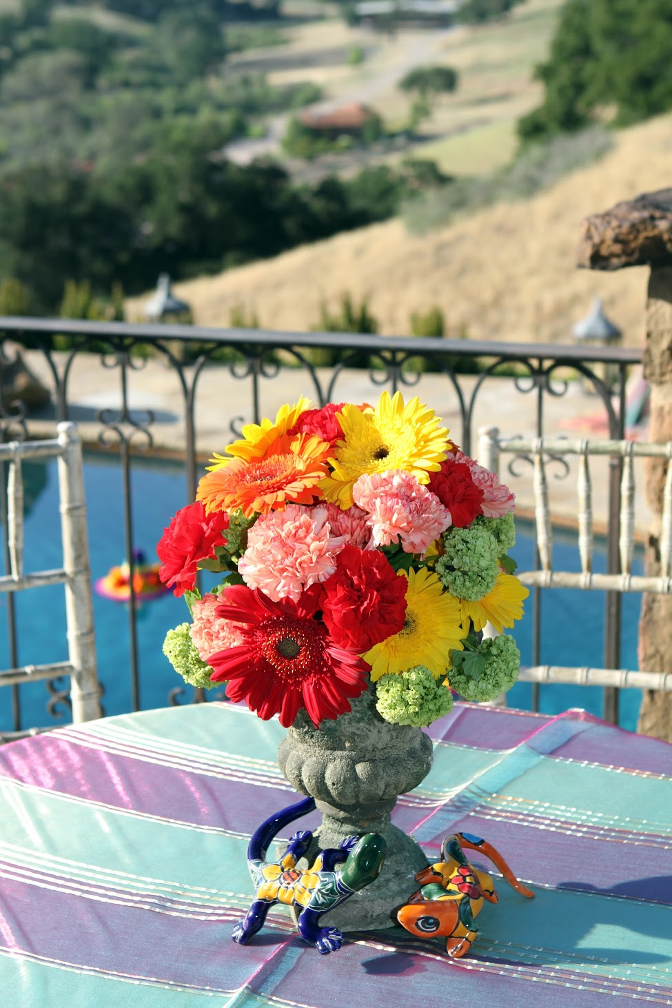 www.felicievents.com | hacienda fiesta | Mexican Party | flowers