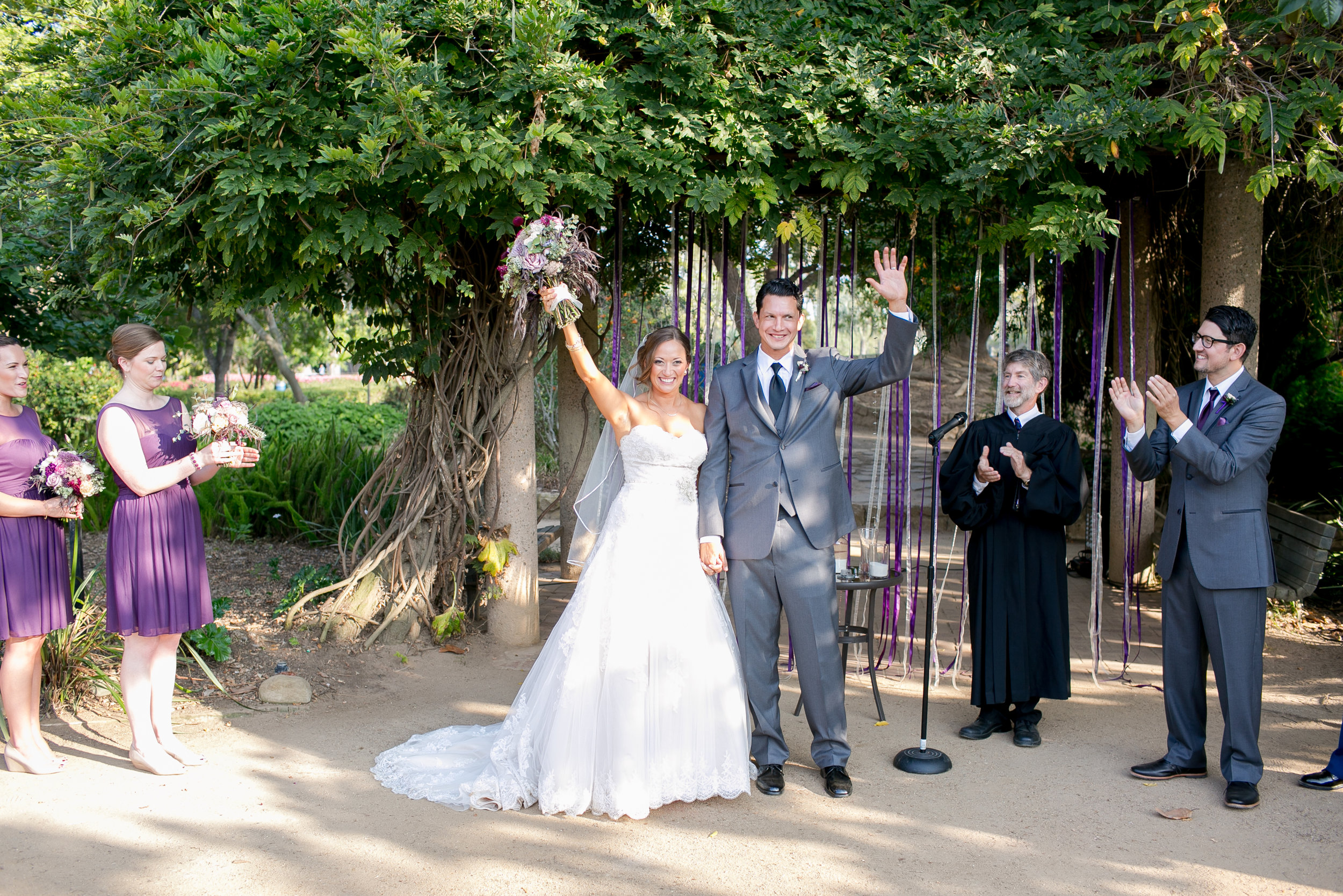 www.felicievents.com | Groom | Felici Wedding | Wedding Ceremony | Purple Wedding | Wedding Flowers | Santa Barbara Wedding | Margaret Joan Floral