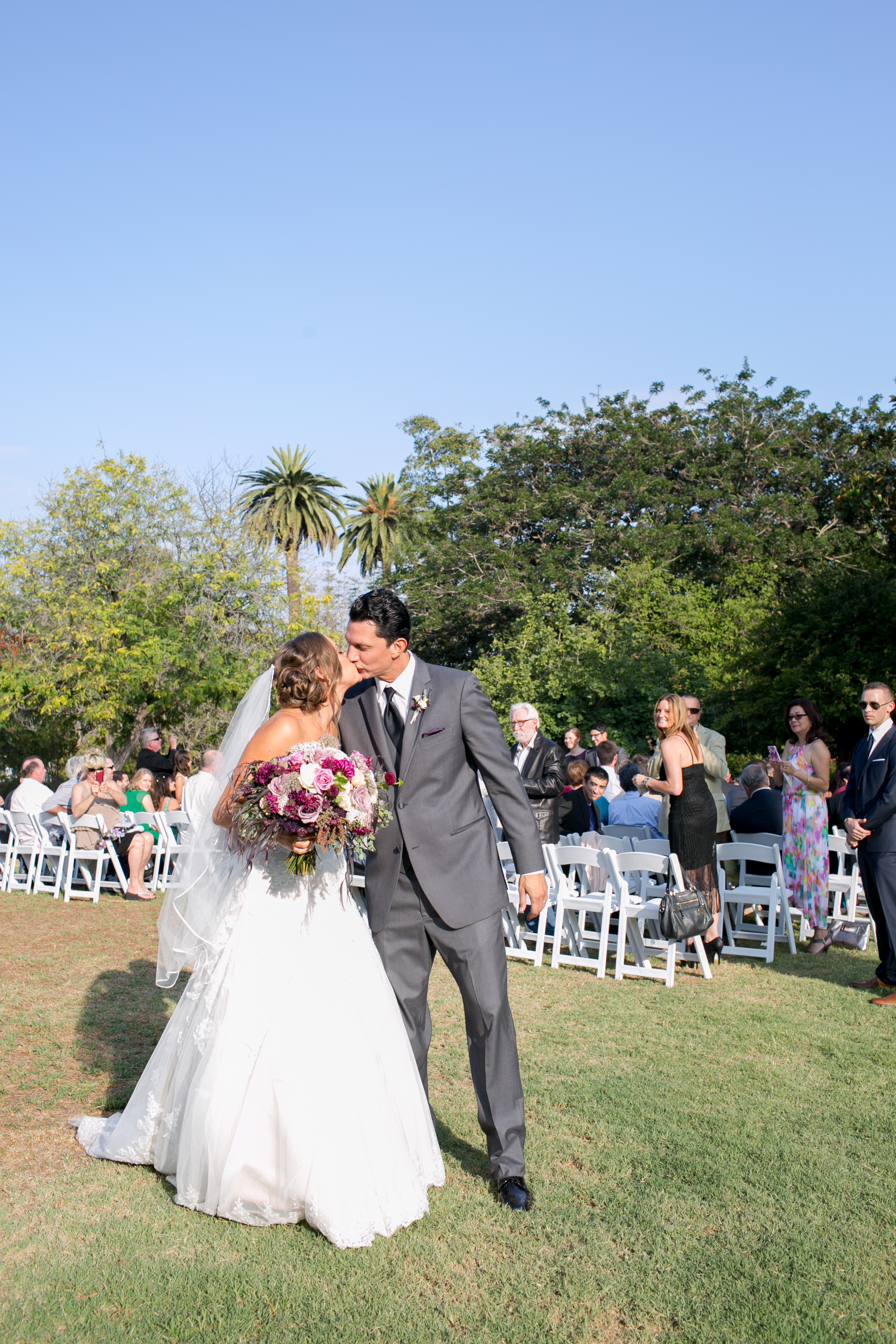www.felicievents.com | Groom | Felici Wedding | Wedding Ceremony | Purple Wedding | Wedding Flowers | Santa Barbara Wedding Ceremony | Park Wedding