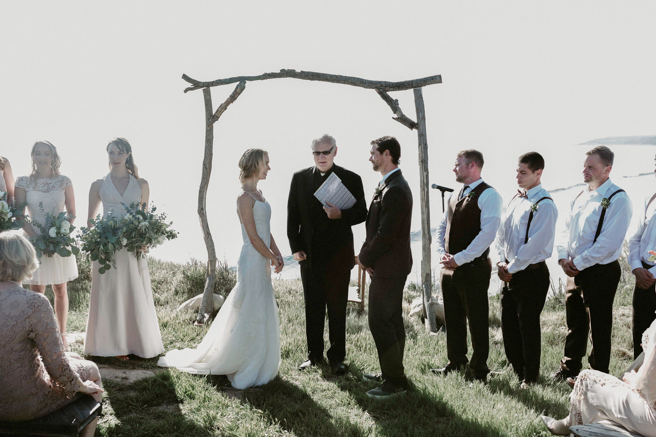 Felici Events | Gaviota Coast | Wedding Ceremony | Oceanfront | Santa Barbara | Clarissa Koenig Photographer |