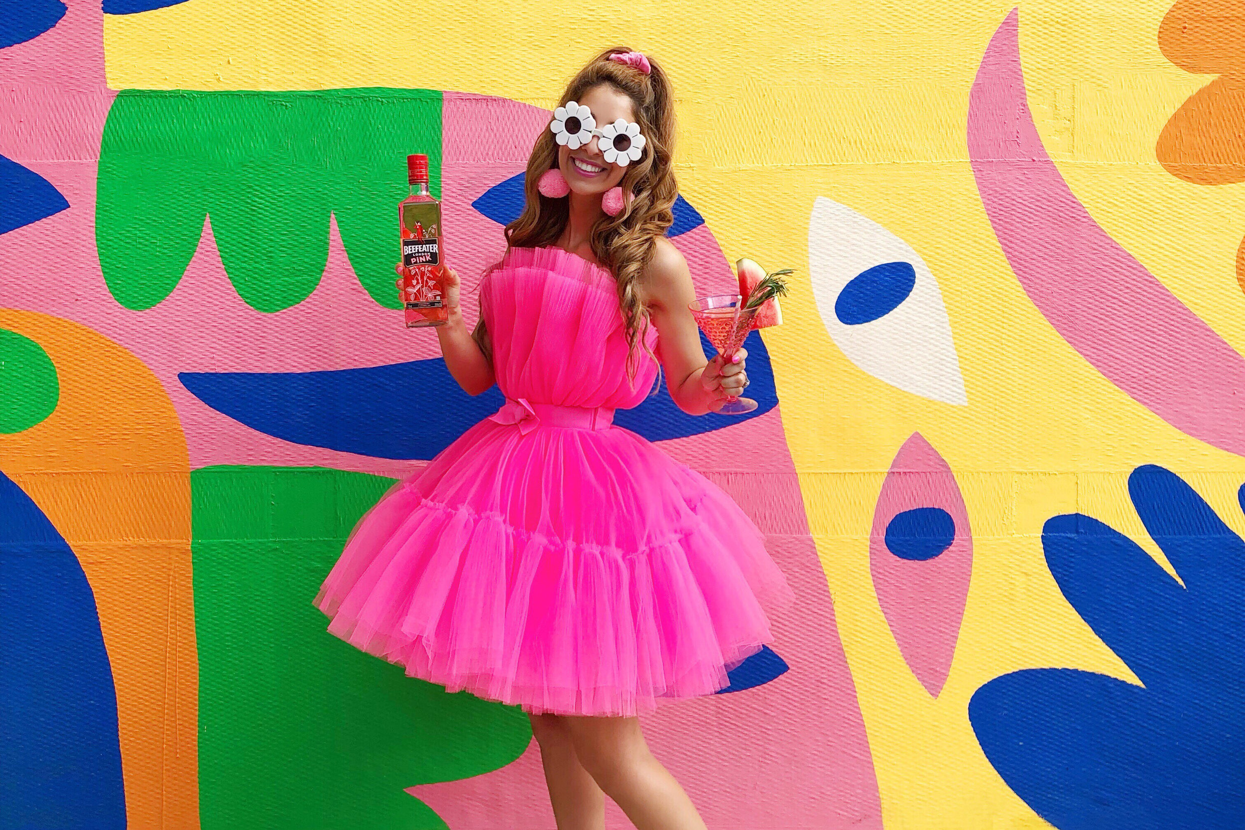 Beefeater Gin - #DrinkWithYourEyes influencer campaign -