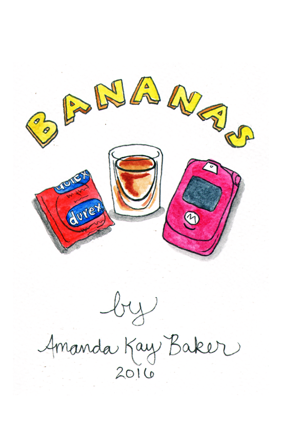 Bananas - Recommended for mature readers.A slice-of-life comic set in the mid-2000s. Created for the 2016 Comics Workbook Competition (it didn't win).Click the image to read the PDF… again, sorry.