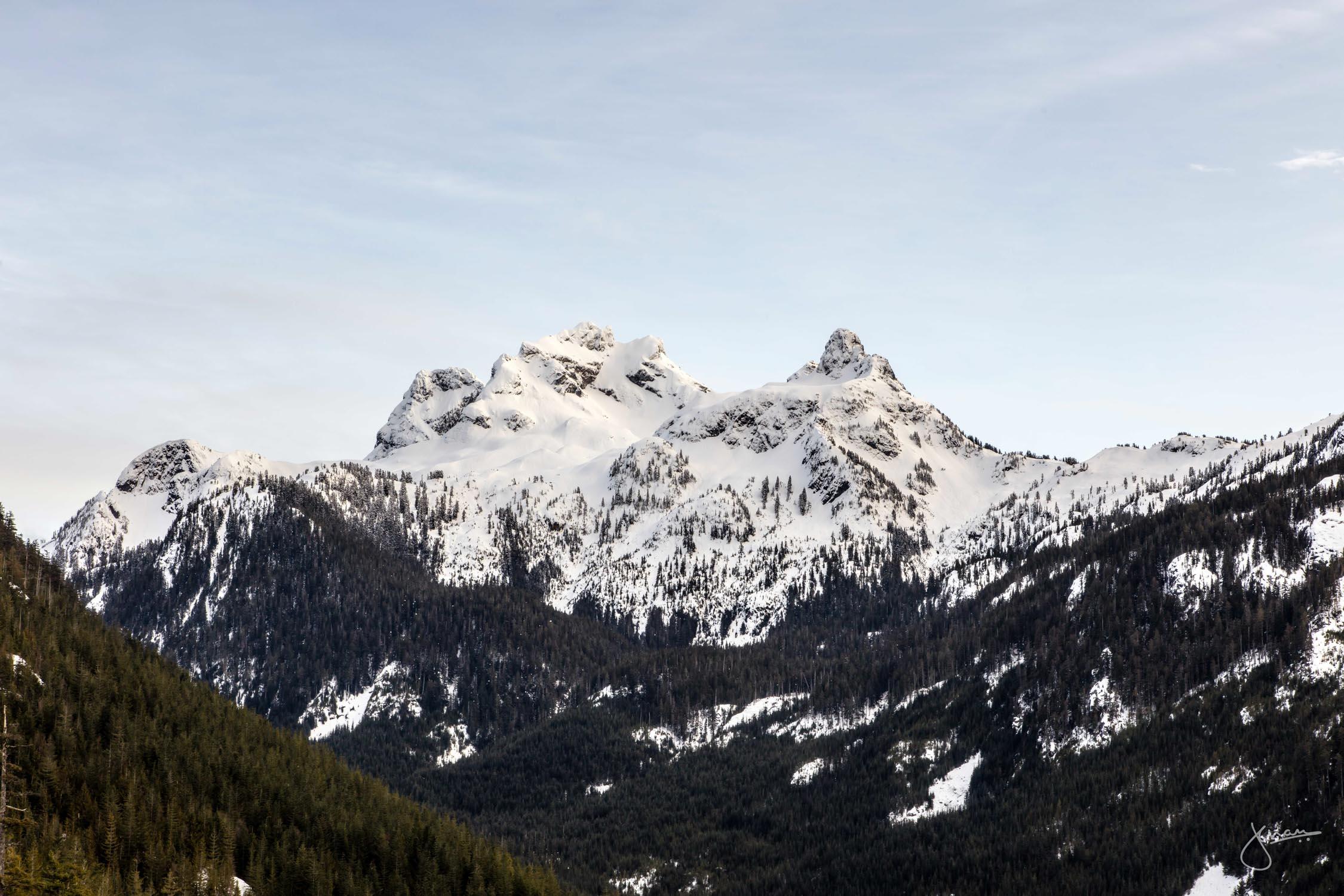 Sky Pilot & Co-Pilot Mountain