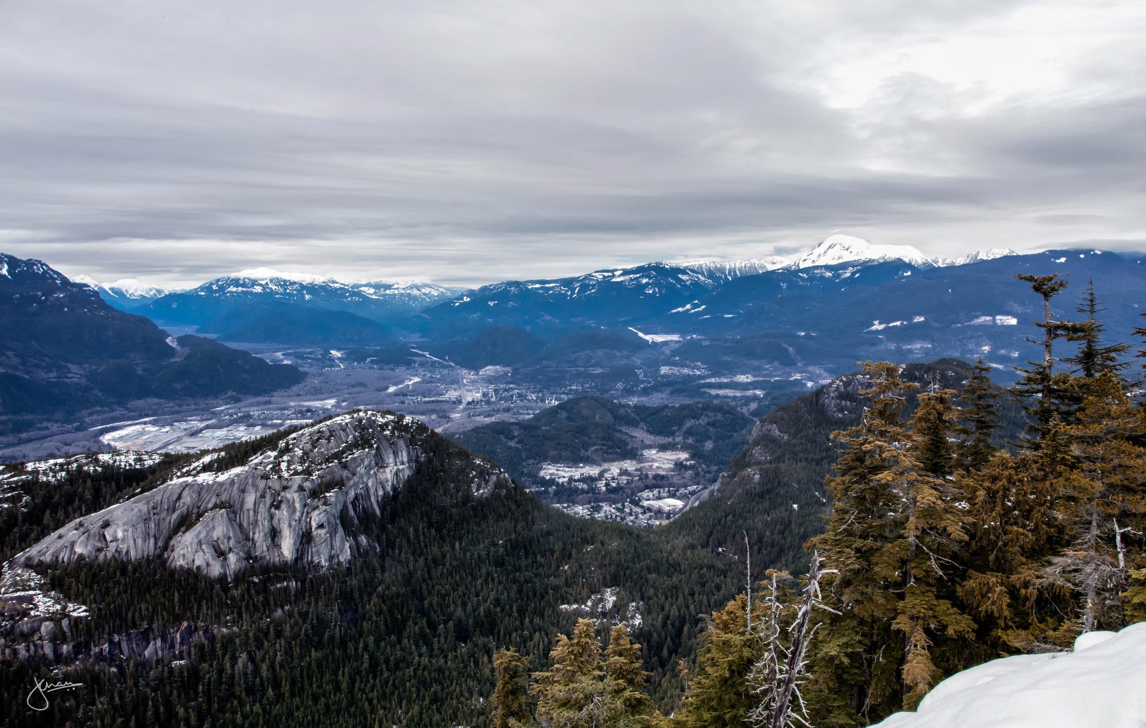 Stawamus Chief & Squamish City
