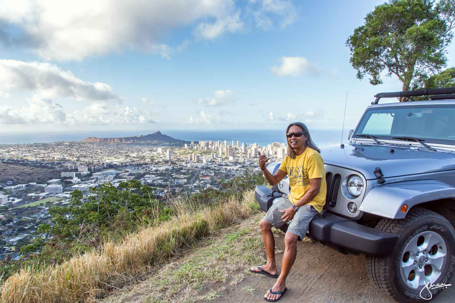 Ron Wong at Oahu Spot Tours