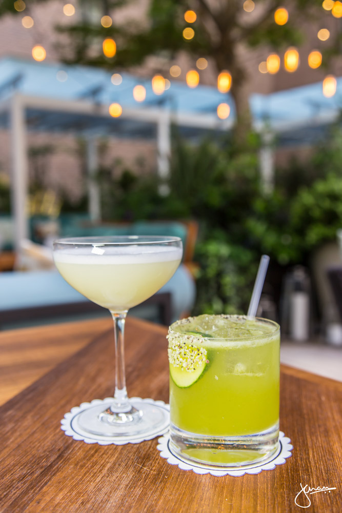 Hotel Georgia + Green Thumb Margarita