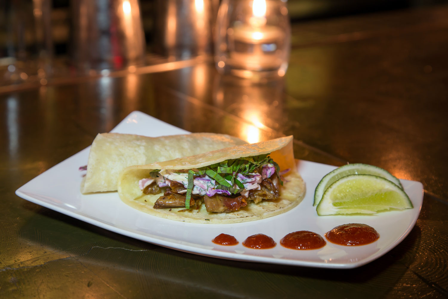 Peking Duck Tacos