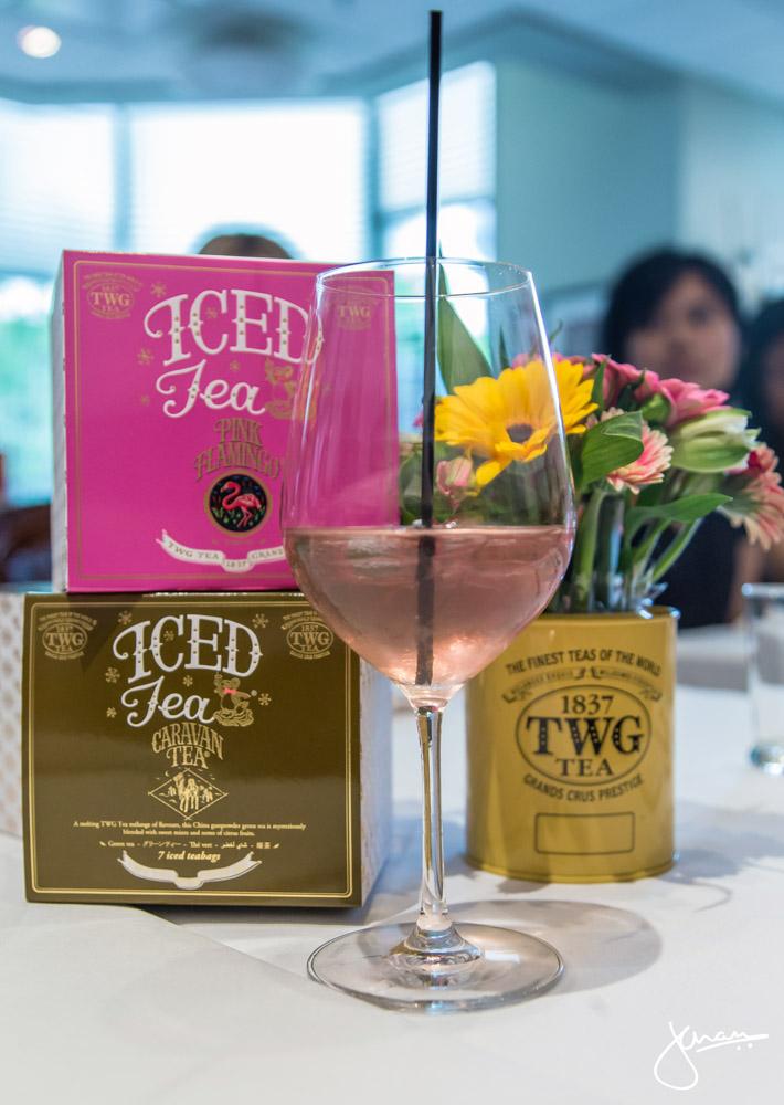 Pink Flamingo Iced Tea