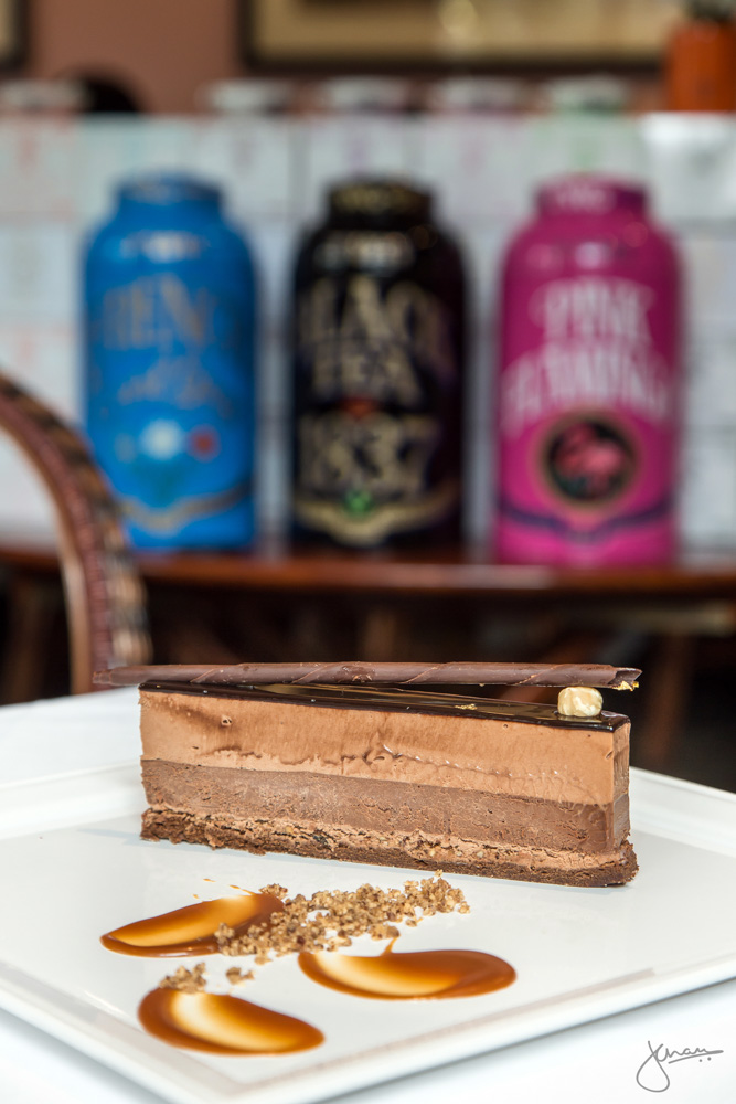 "Jivara Chocolate Mousse -""French Earl Grey"" Classic Decadent Chocolate Cremeux Cake - Gluten Free"