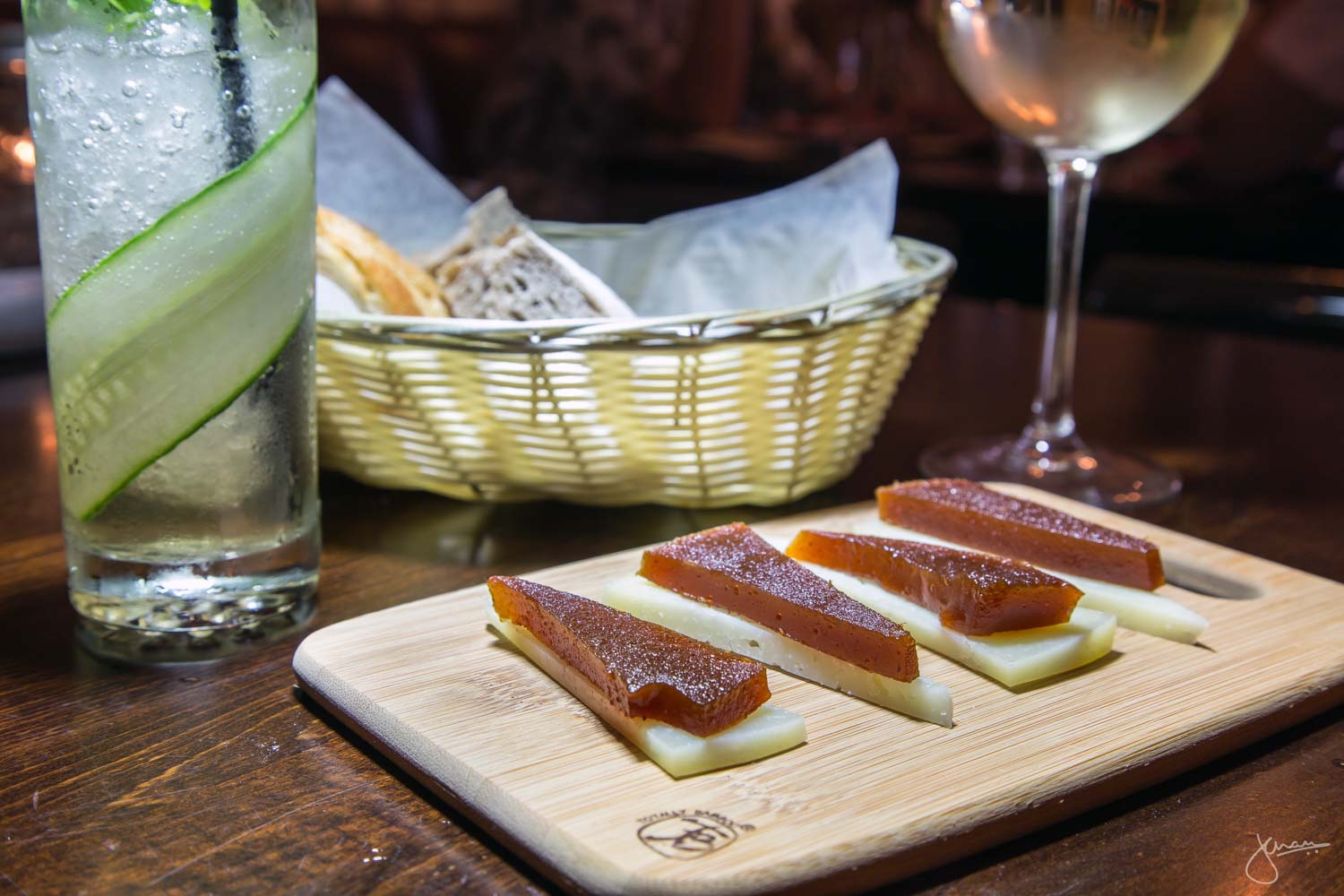 Membrillo Y Queso - Aged Manchego Cheese, and Quince Jelly