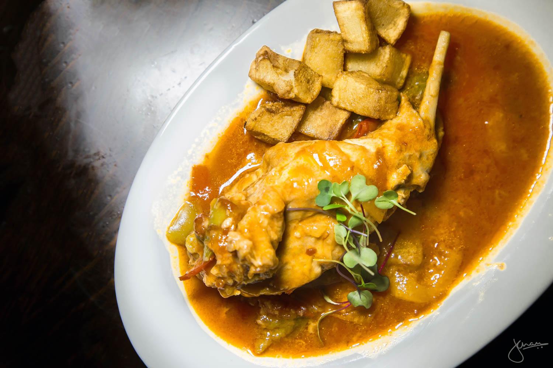 Conejo Riojana - Slow Cooked Rabbit, Tomato and Wine Sauce