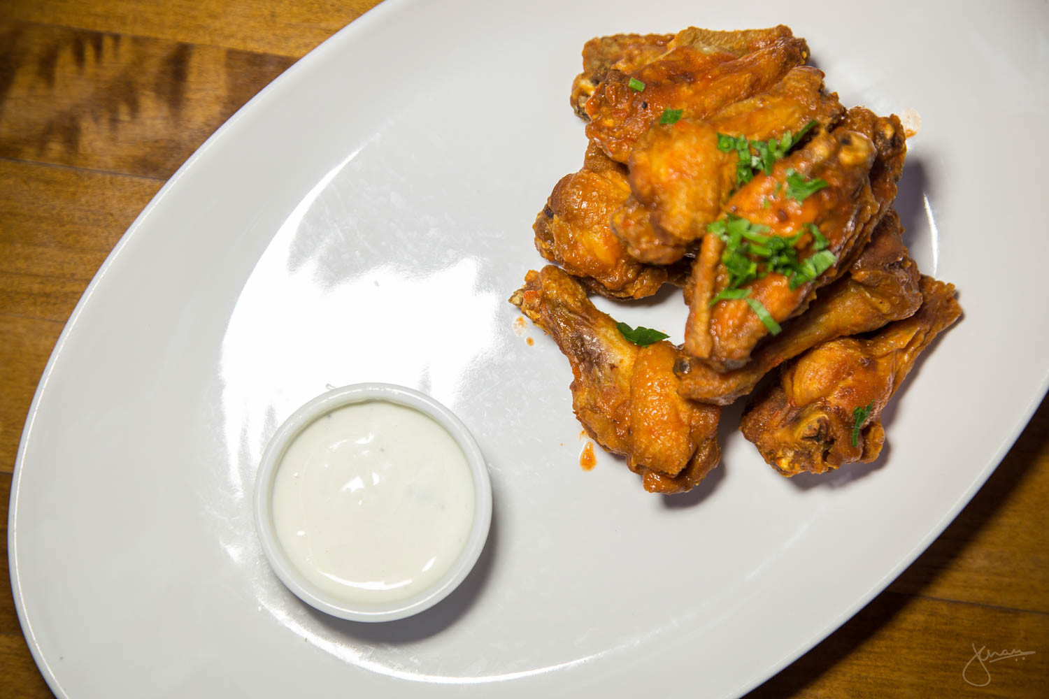 Hot Wings with Blue Cheese