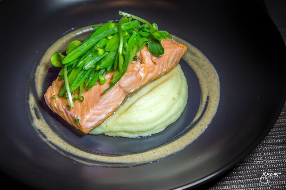 Slowly Cooked Steelhead