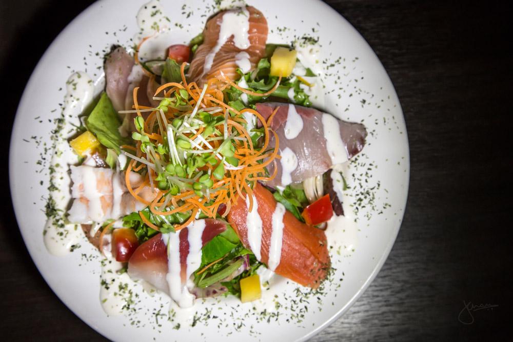 Supreme Sashimi Salad