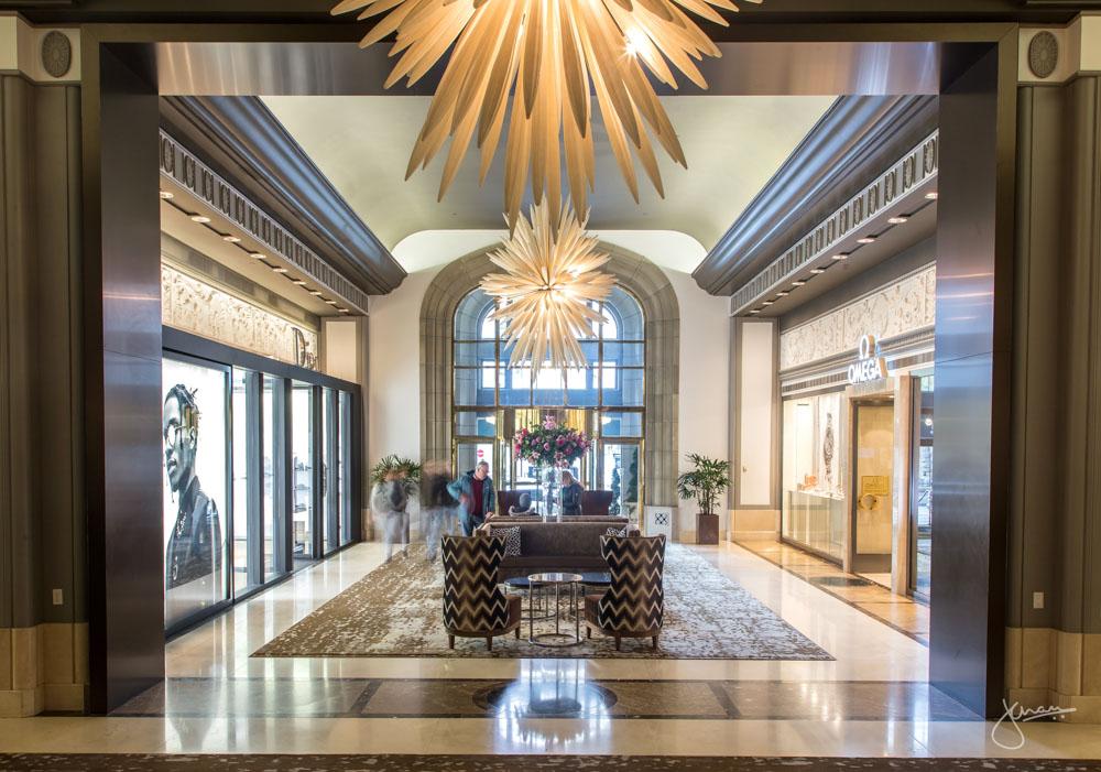 Fairmont Hotel Vancouver Lobby