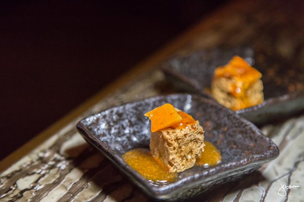 Amuse Bouche - Fried Tofu