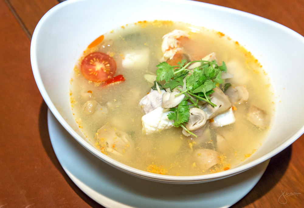 Tom Yum Soup with Seafood