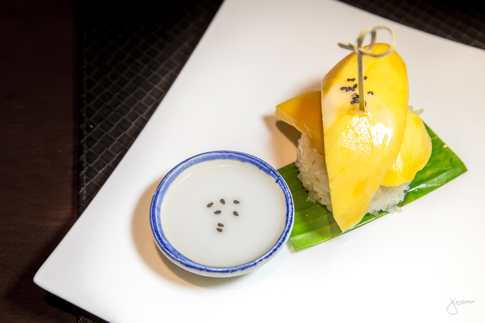 Dessert: Mango & Sticky Rice