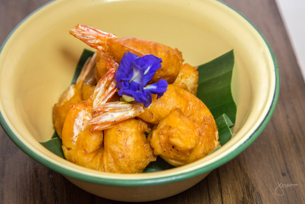 Jewel of Phuket's Cuisine - Deep Fried Prawns